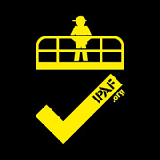 IPAF Tick Logo Yellow